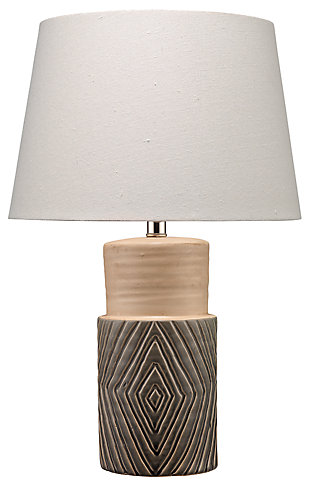 Tribal Ripple Table Lamp, , rollover