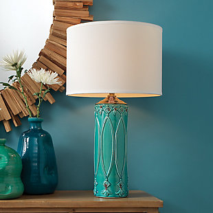 Column Shaped Tabitha Table Lamp, , rollover
