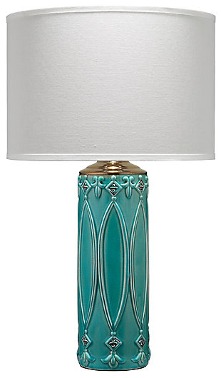 Column Shaped Tabitha Table Lamp, , large