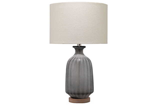 Frosted Glass Table Lamp, , large
