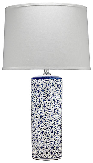 Patterned Vivian Table Lamp, , large