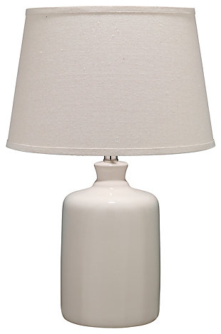Milk Jug Table Lamp with Tapered Shade, , rollover