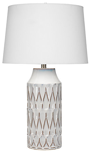 Harlequin Pattern Dalia Table Lamp, , large