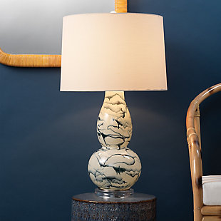 Double Gourd Elodie Table Lamp, , rollover