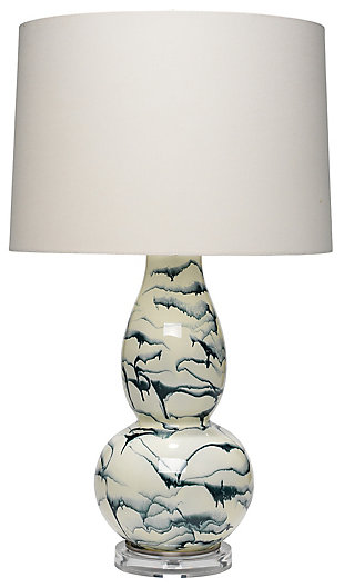 Double Gourd Elodie Table Lamp, , large