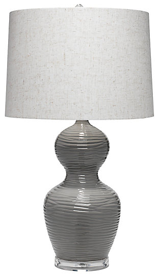 Double Gourd Ezra Table Lamp, , large