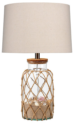 Glass Jar Hugo Table Lamp, , large