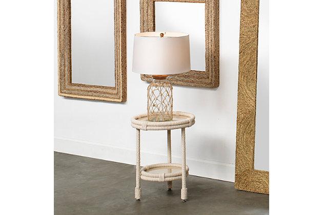 Glass Jar Hugo Table Lamp, , large