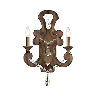 Carved San Sebastian Sconce, , large