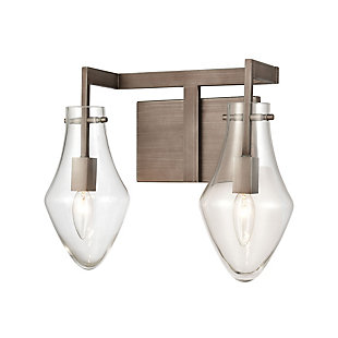 Angular Culmination 2-Light Vanity Light, , large