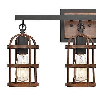 Steel Millville 3-Light Vanity Light, , rollover