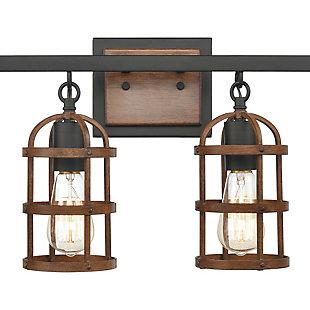 Steel Millville 4-Light Vanity Light, , rollover
