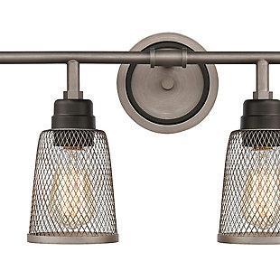 Steel Glencoe 4-Light Vanity Light, , rollover