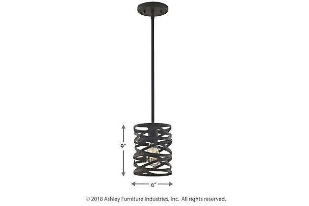 ELK Vorticy One Light Pendant, , large