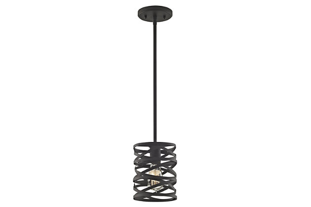 ELK Vorticy One Light Pendant, , large
