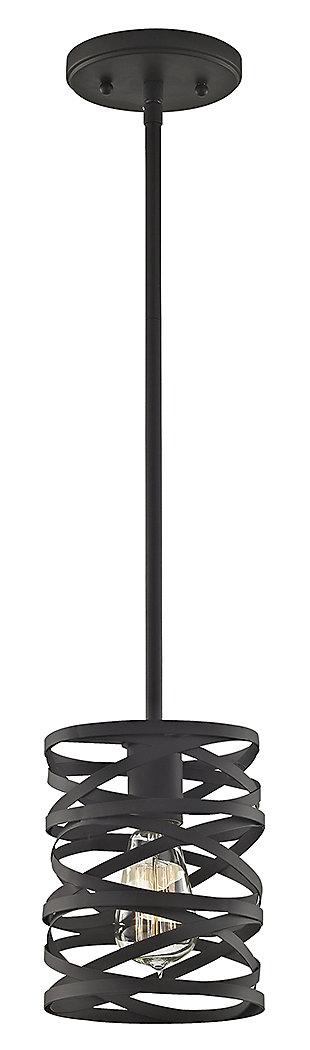 One Light Pendant, , large