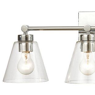Steel East Point 3-Light Vanity Light, , rollover