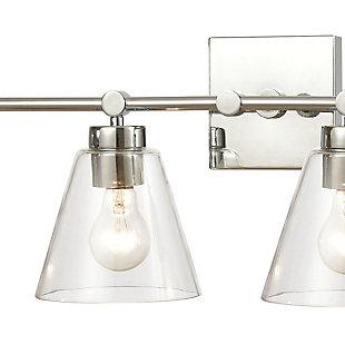 Steel East Point 4-Light Vanity Light, , rollover
