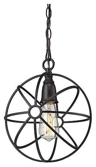 One Light Pendant, , large