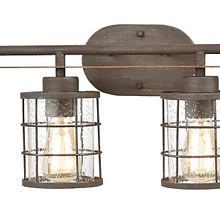 Steel Gilbert 4-Light Vanity Light, , rollover