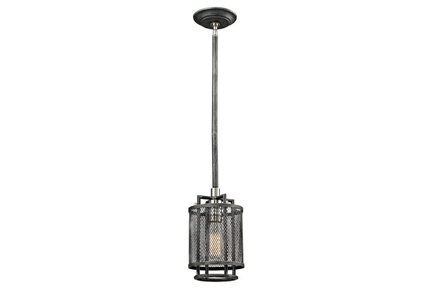ELK Slatington One Light Pendant, , large
