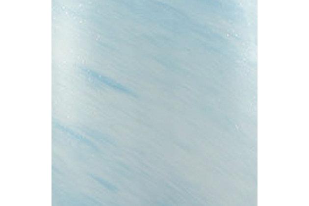 Mini Planetario Pendant, Nickel Finish/Sky Blue, large