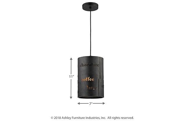ELK Cafe One Light Pendant, , large