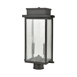 Steel Braddock 2-Light Outdoor Post Mount, , rollover
