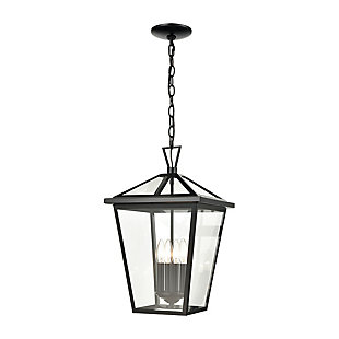 Steel Main Street Outdoor Pendant, , large