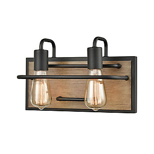 Steel Copley 2-Light Vanity Light, , large