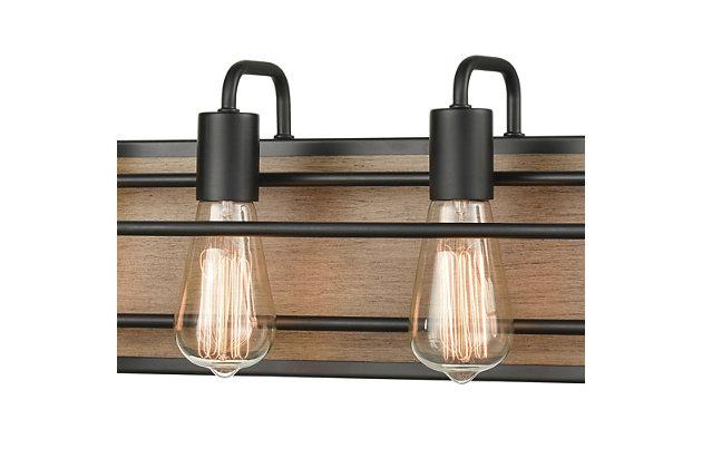 Steel Copley 4-Light Vanity Light, , large
