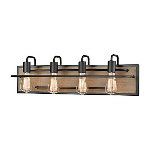 Steel Copley 4-Light Vanity Light, , large