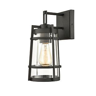 Steel Crofton Outdoor Sconce, , large