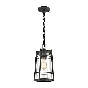 Steel Crofton Outdoor Pendant, , rollover