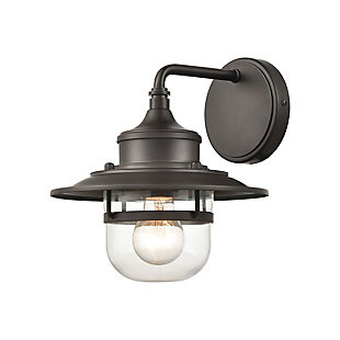 Steel Renninger Outdoor Sconce, , large