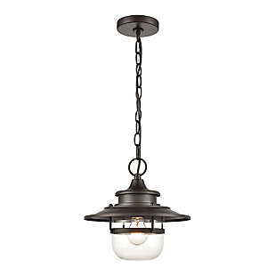 Steel Renninger Outdoor Pendant, , large