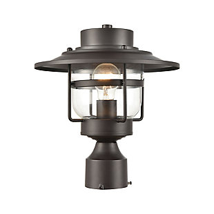Steel Renninger 1-Light Outdoor Post Mount, , large