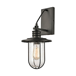 Steel Lakeshore Drive Sconce, , large