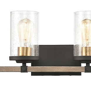 Steel Geringer 4-Light Vanity Light, , rollover