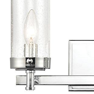 Steel Melinda 2-Light Vanity Light, , rollover