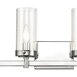 Steel Melinda 4-Light Vanity Light, , large