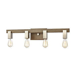 Steel Axis 4-Light Vanity Light, , large