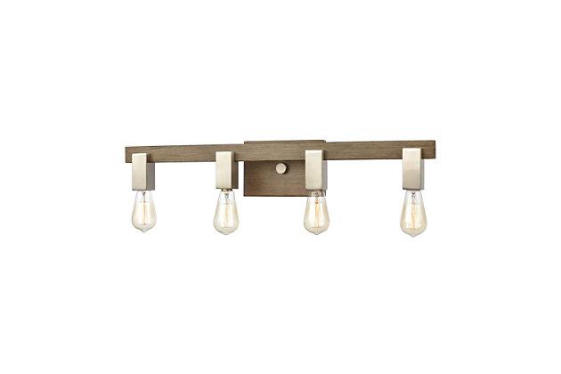 Steel Axis 4-Light Vanity Light, , large