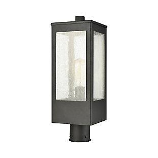 Steel Angus 1-Light Outdoor Post Mount, , rollover