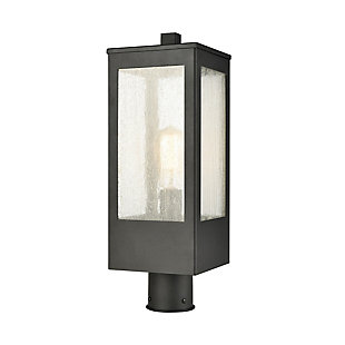 Steel Angus 1-Light Outdoor Post Mount, , large