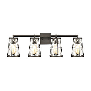 Steel Kendrix 4-Light Vanity Light, , large