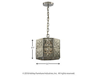 ELK Glass Tile One Light Pendant, , large