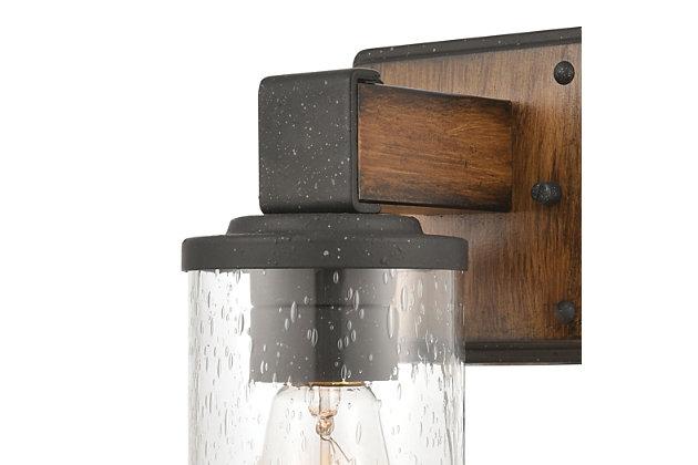 Steel Crenshaw Vanity Light, , large