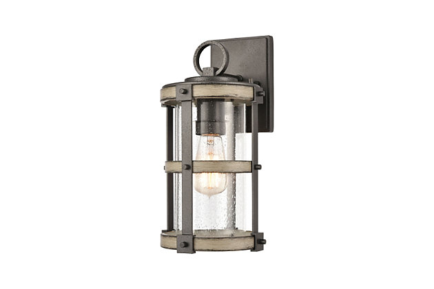 Cast Aluminum Crenshaw Outdoor Sconce, , large