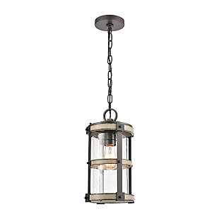 Cast Aluminum Crenshaw Outdoor Pendant, , large